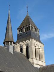 Maine-et-Loire - Fontevraud - Clocher de l'Abbaye