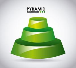 pyramid infographic