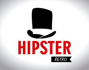 Hipster design,vector illustration.