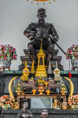 King Naresuan Shrine Wat Yai Chai Mongkhon Ayutthaya bangkok Tha