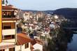 View from town Veliko Tarnovo in Bulgaria