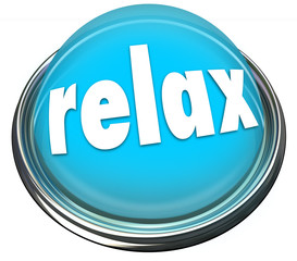 Relax Calm Down Blue Button Light Cool Off Rest