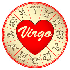zodiac sign Virgo, for lovers on Valentine's day