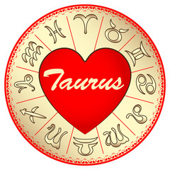 zodiac sign Taurus, for lovers on Valentine's day