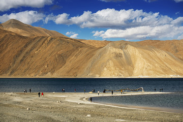 Pangong Lake Leh ,India
