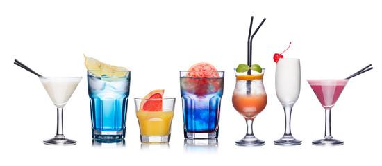 Alcoholic cocktails