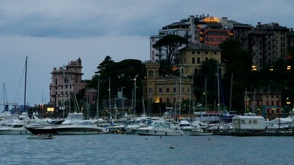 Rapallo Hafen vid 01