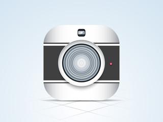 Shiny camera for photography.