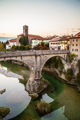 Devil's bridge of Cividale del Friuli