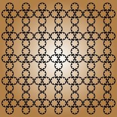 Sfondo marrone con forme geometriche