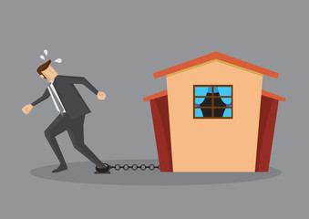 Escaping from Heavy Debt Burden of Home Mortgage Loan