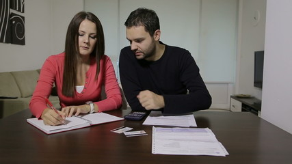 Couple with financial problem