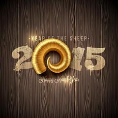 Иллюстрация к новому году 2015