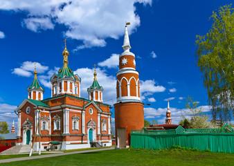 Uspensky Brusensky monastery in Kolomna Kremlin - Russia - Mosco