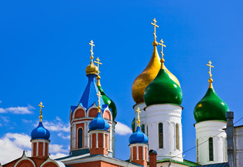 Churches in Kolomna Kremlin - Moscow region - Russia