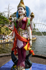 Africa, Grand Bassin indian temple in Mauritius Island