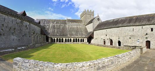 Courtyard of the Holycross Abbey.
