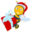 Obrazy na płótnie, fototapety, zdjęcia, fotoobrazy drukowane : Fun bee