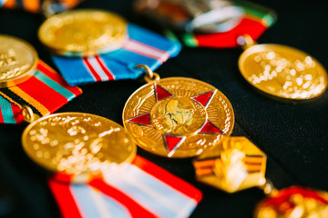 Anniversary Medals Of A Victory In The Great Patriotic War On Co
