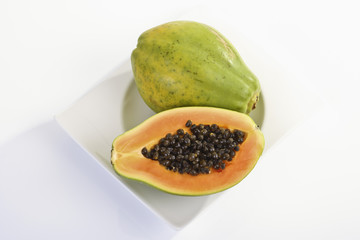 Papaya (Carica papaya), Teller
