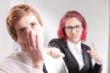 man VS woman annoyances on workplace