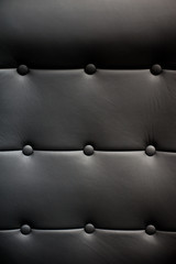 Background leather armchair