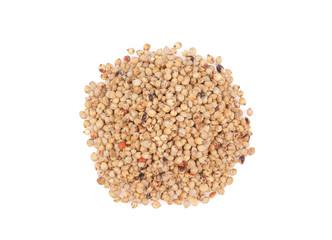 pile of sorghum