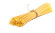 Leinwanddruck Bild - sheaf raw spaghetti