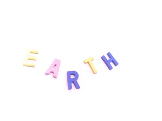 アース・地球・アルファベット