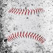 Grunge Baseball Stitches - 74765470