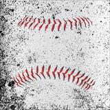 Grunge Baseball Stitches