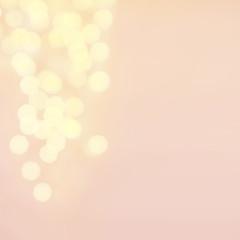 Defocused  twinkling lights Christmas Bokeh background. Christma