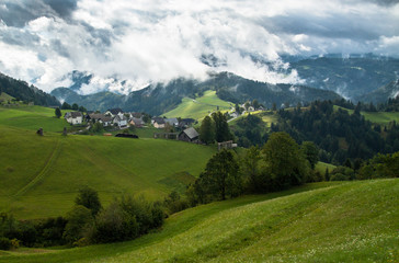 Countryside in Alps