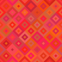Red geometrical seamless background. Vector illustration