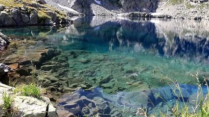 Au bord d'un lac