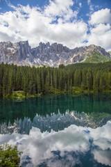 Lago di Carezza,Bolzano,Trentino Alto Adige