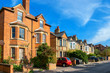 Town houses. Oxford, England - 74769481