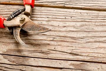 used pruning shears