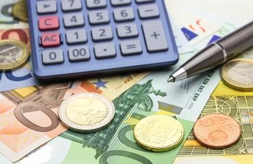 Konzept Geld Euro
