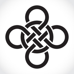 Celtic symbol, illustration