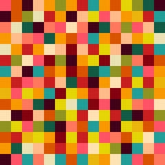 colorful squares background, illustration