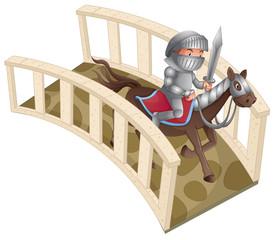 Knight and bridge