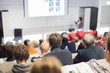 Leinwanddruck Bild - Faculty lecture and workshop.