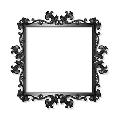 carved vintage frame for picture or photo