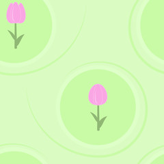 Tulips seamless texture