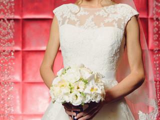 Elegant Lave Wedding Dress