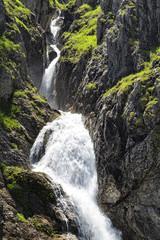 Wasserfall in den Allgäuer Hochalpen