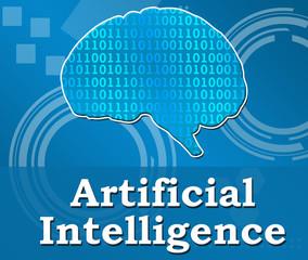 Artificial Intelligence Binary Brain Square