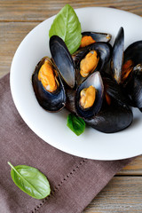 Mussels in Mauchle