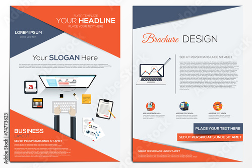 Brochure Design Template - 74773623